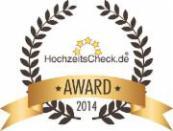 HAPPY HOUR Hochzeitscheck AWARD 2014