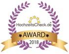 HAPPY HOUR Hochzeitscheck Award 2018