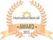 HAPPY HOUR Hochzeitscheck Award 2015