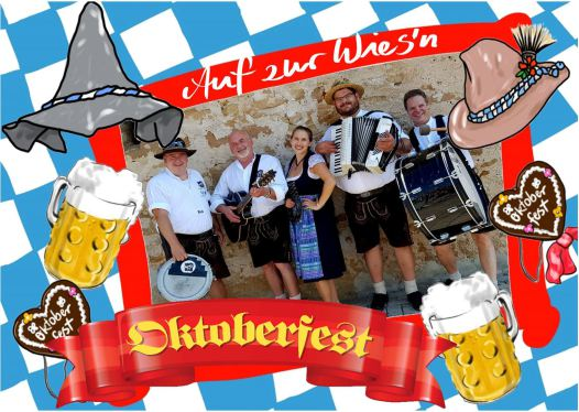 HAPPY HOUR Oktoberfestband Bayern original bavarian oompah band Oktoberfest